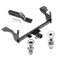 """Trailer Tow Hitch For 14-17 Volvo XC60 Receiver w/ 1-7/8"""" and 2"""" Ball"""