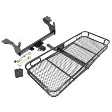 Trailer Tow Hitch For 14-17 Volvo XC60 Basket Cargo Carrier Platform Hitch Lock and Cover