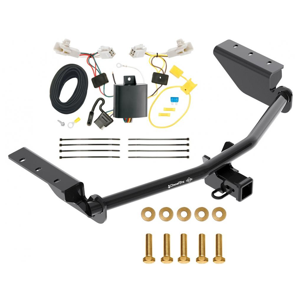 Trailer Tow Hitch For 13-18 Toyota RAV4 w/ Wiring Harness ...