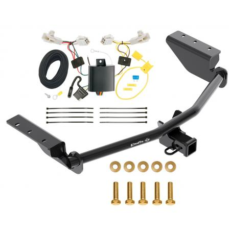 Trailer Tow Hitch For 13-18 Toyota RAV4 w/ Wiring Harness Kit