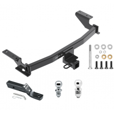 """Trailer Tow Hitch For 13-19 Mazda CX-5 Receiver w/ 1-7/8"""" and 2"""" Ball"""