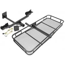 Trailer Tow Hitch For 12-19 Mercedes-Benz GLE350 ML350 Basket Cargo Carrier Platform Hitch Lock and Cover