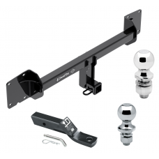 """Trailer Tow Hitch For 16-18 Tesla X Receiver w/ 1-7/8"""" and 2"""" Ball"""