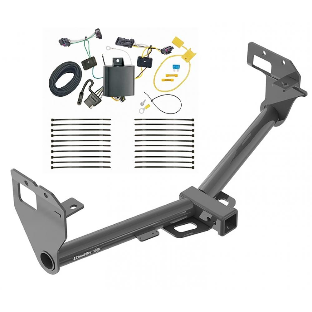 Trailer Tow Hitch For 17-20 Jeep Comp New Body Style w/ Wiring Harness on license plate bracket for jeep, steering column for jeep, hood for jeep, relay for jeep, fuse box for jeep, front bar for jeep, filter for jeep, gauges for jeep, sway bar for jeep, suspension for jeep, fuel injection kits for jeep, neutral safety switch for jeep, backup lights for jeep, lightbar for jeep, battery box for jeep, antenna for jeep, water pump for jeep, kill switch for jeep, timing chain for jeep, windshield for jeep,