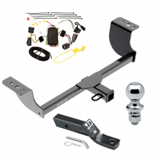 "Trailer Tow Hitch For 05-08 Dodge Magnum Complete Package w/ Wiring and 1-7/8"" Ball"