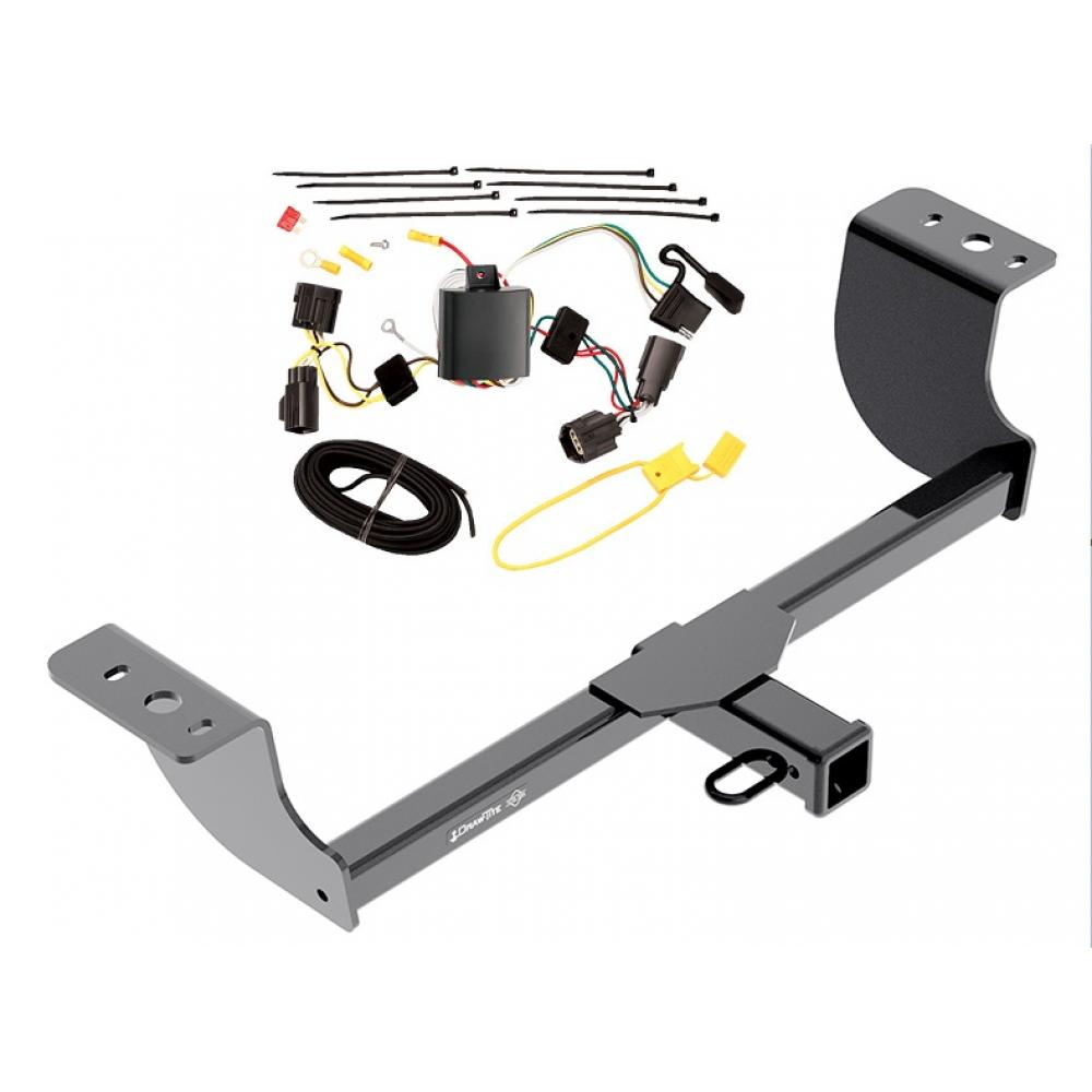 trailer tow hitch for 05 08 dodge magnum w wiring harness kit. Black Bedroom Furniture Sets. Home Design Ideas