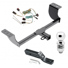 "Trailer Tow Hitch For 05-07 Chrysler 300 08-14 Dodge Challenger 06-10 Charger Complete Package w/ Wiring and 2"" Ball"