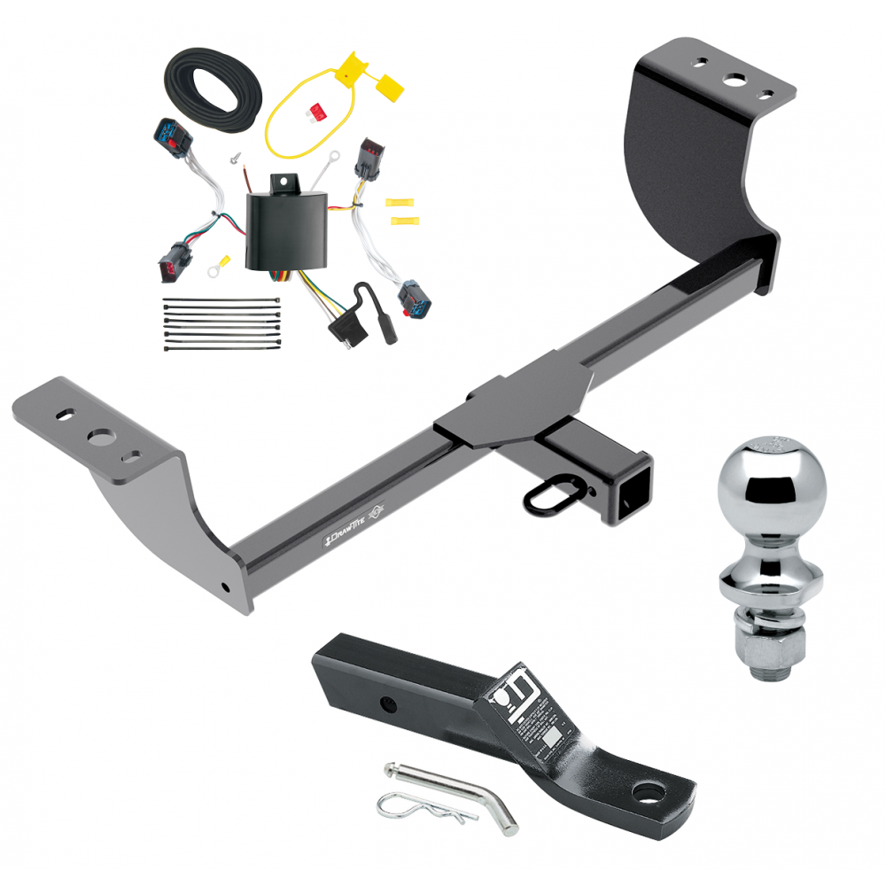 trailer tow hitch for 11 14 chrysler 300 complete package. Black Bedroom Furniture Sets. Home Design Ideas