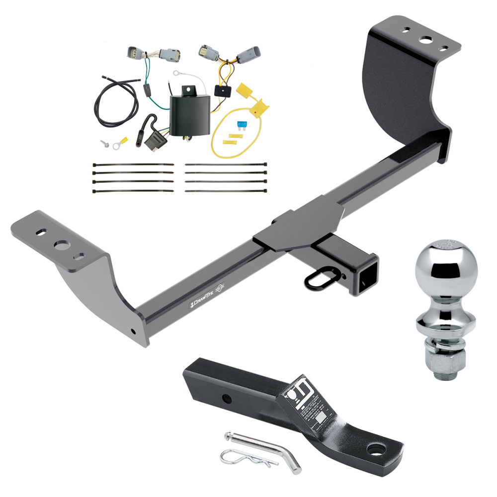 Trailer Tow Hitch For 15-19 Chrysler 300 Complete Package