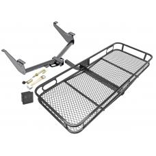 Trailer Tow Hitch For 17-19 Nissan Titan except XD Basket Cargo Carrier Platform Hitch Lock and Cover