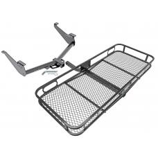 Trailer Tow Hitch For 17-19 Nissan Titan except XD Basket Cargo Carrier Platform w/ Hitch Pin