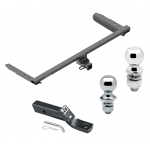 """Trailer Tow Hitch For 18-19 Honda Odyssey Receiver w/ 1-7/8"""" and 2"""" Ball"""