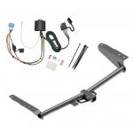 Trailer Tow Hitch For 18-19 Honda Odyssey With Fuse Provisions w/ Wiring Harness Kit