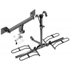 Trailer Tow Hitch For 18-20 Audi Q5 SQ5 Platform Style 2 Bike Rack w/ Anti Rattle Hitch Lock