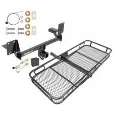 Trailer Tow Hitch For 16-19 Volvo XC90 Basket Cargo Carrier Platform Hitch Lock and Cover