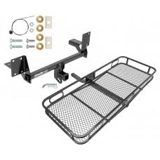 Trailer Tow Hitch For 16-19 Volvo XC90 Basket Cargo Carrier Platform w/ Hitch Pin