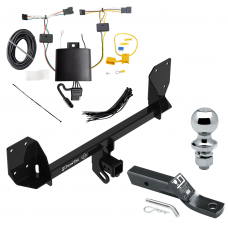 """Trailer Tow Hitch For 18-19 Volvo XC60 Complete Package w/ Wiring and 1-7/8"""" Ball"""