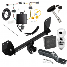 """Trailer Tow Hitch For 18-19 Volvo XC60 Deluxe Package Wiring 2"""" Ball and Lock"""