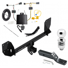 """Trailer Tow Hitch For 18-19 Volvo XC60 Complete Package w/ Wiring and 2"""" Ball"""