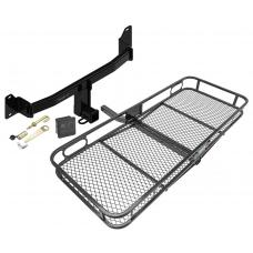 Trailer Tow Hitch For 18 BMW X2 Basket Cargo Carrier Platform Hitch Lock and Cover
