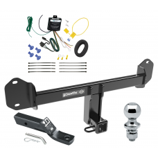 """Trailer Tow Hitch For 11-20 BMW X3 Complete Package w/ Wiring and 1-7/8"""" Ball"""