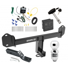 """Trailer Tow Hitch For 11-20 BMW X3 Deluxe Package Wiring 2"""" Ball and Lock"""