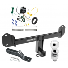 """Trailer Tow Hitch For 11-20 BMW X3 Complete Package w/ Wiring and 2"""" Ball"""