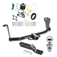 "Trailer Tow Hitch For 18-19 Mitsubushi Eclipse Cross Complete Package w/ Wiring and 1-7/8"" Ball"