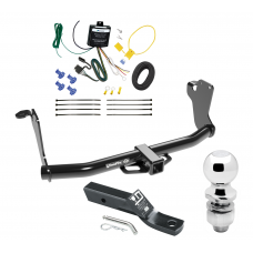 "Trailer Tow Hitch For 18-19 Mitsubushi Eclipse Cross Complete Package w/ Wiring and 2"" Ball"