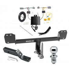"""Trailer Tow Hitch For 19 Volvo XC40 Complete Package w/ Wiring and 1-7/8"""" Ball"""