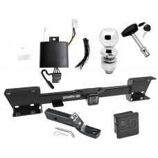 """Trailer Tow Hitch For 19-20 Subaru Ascent Deluxe Package Wiring 2"""" Ball and Lock"""