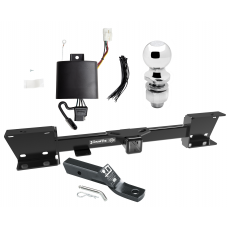 """Trailer Tow Hitch For 19-20 Subaru Ascent Complete Package w/ Wiring and 2"""" Ball"""