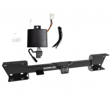 """Trailer Tow Hitch For 19-20 Subaru Ascent Complete Package w/ Wiring and 1-7/8"""" Ball"""
