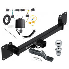 """Trailer Tow Hitch For 18-19 Land Rover Range Rover Velar Complete Package w/ Wiring and 1-7/8"""" Ball"""