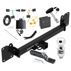 """Trailer Tow Hitch For 18-19 Land Rover Range Rover Velar Deluxe Package Wiring 2"""" Ball and Lock"""