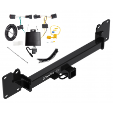 Trailer Tow Hitch For 18-19 Land Rover Range Rover Velar w/ Wiring Harness Kit