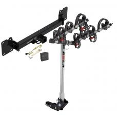 Trailer Tow Hitch For 18-19 Land Rover Range Rover Velar 4 Bike Rack w/ Hitch Lock and Cover