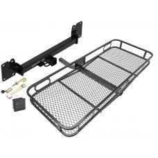 Trailer Tow Hitch For 18-19 Land Rover Range Rover Velar Basket Cargo Carrier Platform Hitch Lock and Cover