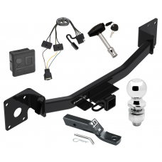 "Trailer Tow Hitch For 19-20 Cadilac XT4 Deluxe Package Wiring 2"" Ball and Lock"