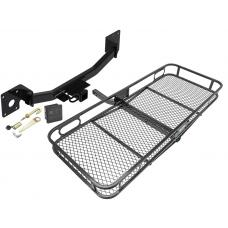 Trailer Tow Hitch For 19-20 Cadilac XT4 Basket Cargo Carrier Platform Hitch Lock and Cover
