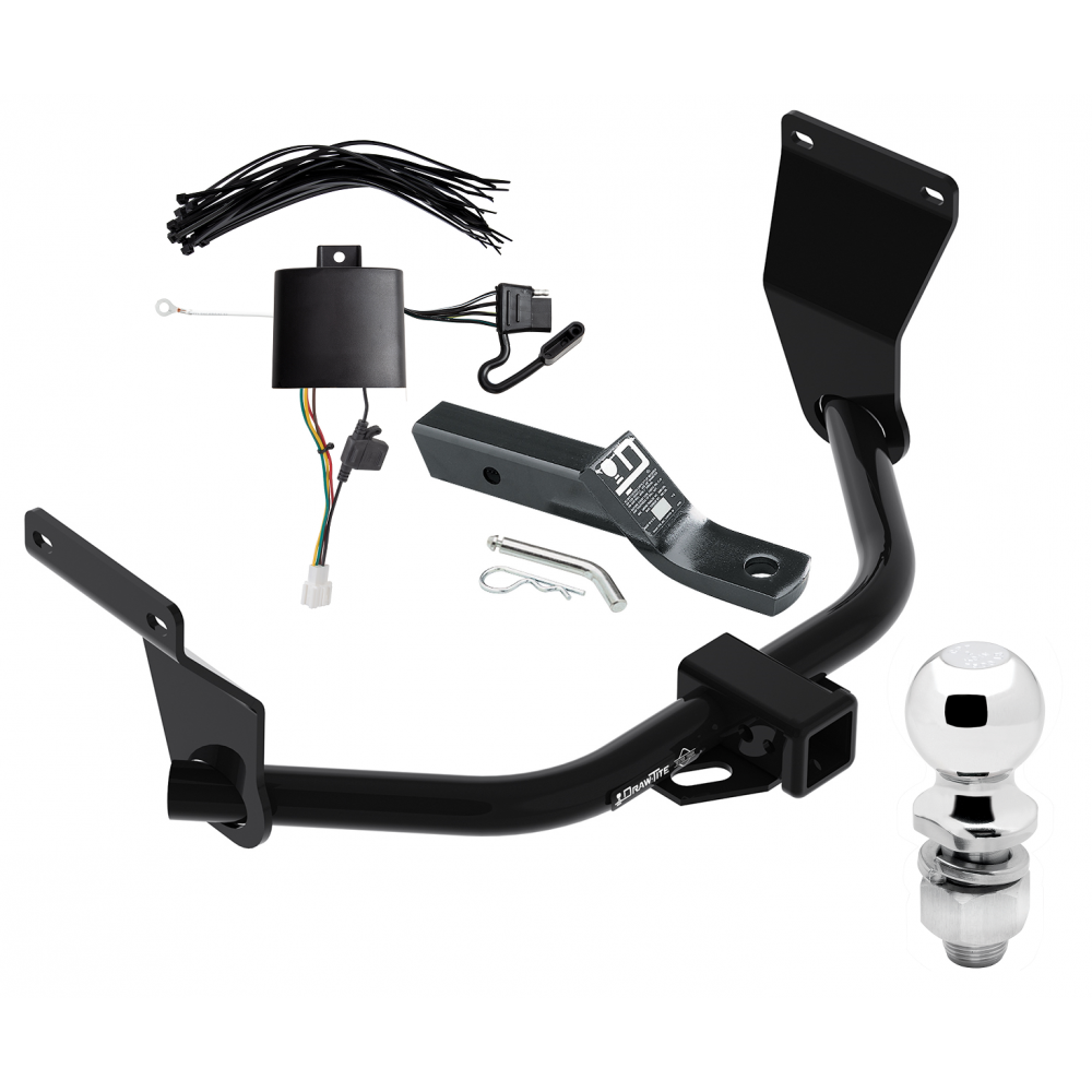 Trailer Tow Hitch For 19 Acura RDX Complete Package W