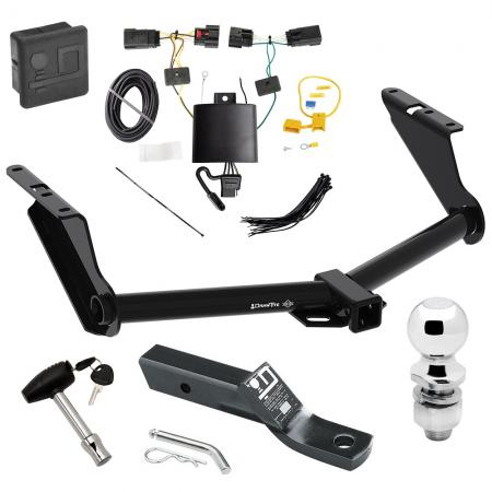 """Trailer Tow Hitch For 2020 Jeep Gladiator Excluding Rubicon Wiring 2"""" Ball and Lock"""