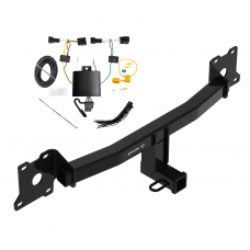Trailer Tow Hitch For 18-19 Jaguar E-Pace w/ Wiring Harness Kit
