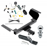 """Trailer Tow Hitch For 18-19 GMC Terrain Except Diesel Complete Package w/ Wiring and 1-7/8"""" Ball"""