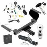 """Trailer Tow Hitch For 18-19 GMC Terrain Except Diesel Deluxe Package Wiring 2"""" Ball and Lock"""