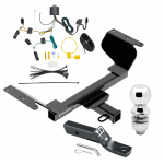 """Trailer Tow Hitch For 18-19 GMC Terrain Except Diesel Complete Package w/ Wiring and 2"""" Ball"""