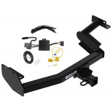 Trailer Tow Hitch For 20-21 Hyundai Palisade KIA Telluride w/ Wiring Harness Kit