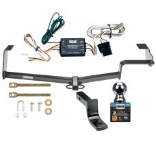 "Reese Trailer Tow Hitch For 06-11 Honda Civic Complete Package w/ Wiring and 2"" Ball"