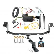 "Reese Trailer Tow Hitch For 14-19 Toyota Corolla Except Hatchback Complete Package w/ Wiring and 2"" Ball"