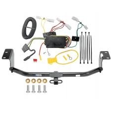 Reese Trailer Tow Hitch For 14-19 Toyota Corolla Except Hatchback Trailer Hitch Tow Receiver w/ Wiring Harness Kit